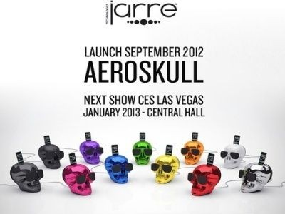 aeroskull, high-tech, enceintes, jarre technologies