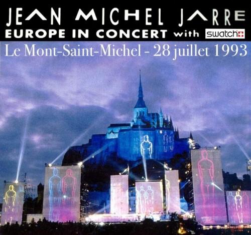 Mont-saint-michel,jean michel jarre, concert,1993