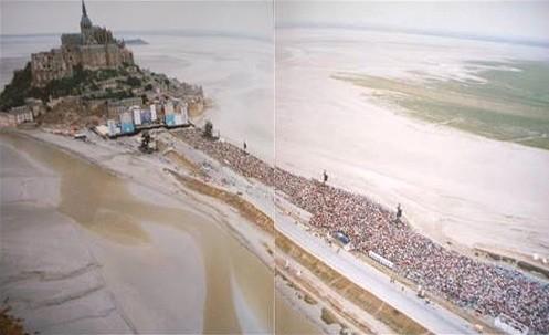 1993,europe en concert,concert en extérieur,concert géant