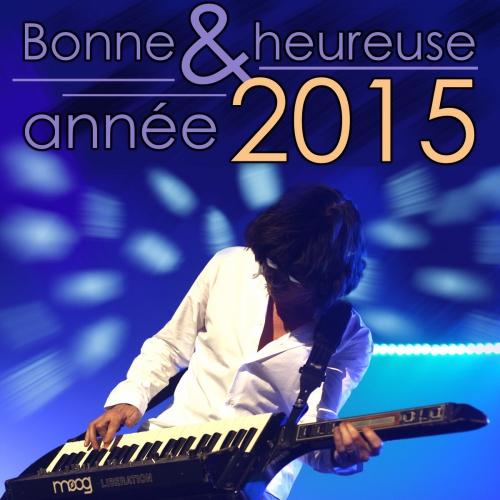 Bonne année,2015
