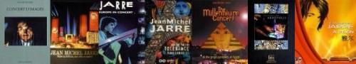 Livres de concerts,jean michel jarre