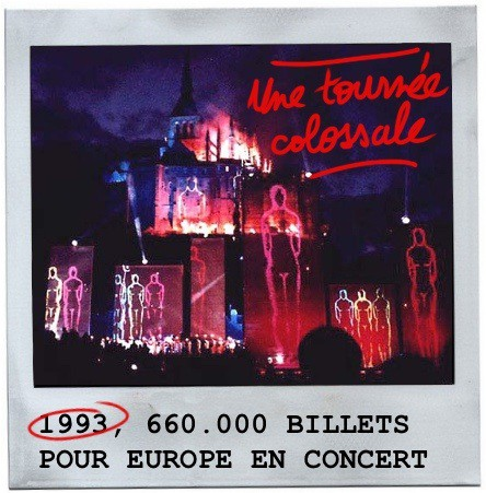 Mont-Saint-michel, europe en concert,1993