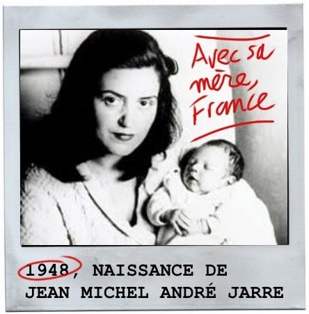 Jean michel jarre, bebe, enfant, france péjot