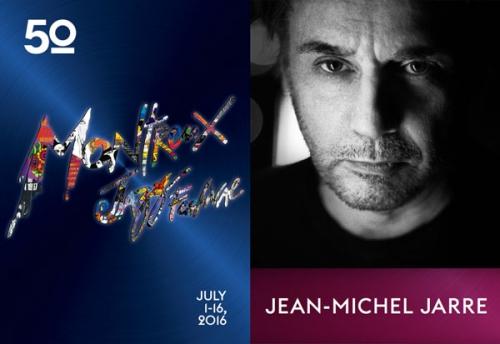 Jean Michel Jarre, Montreux jazz festival