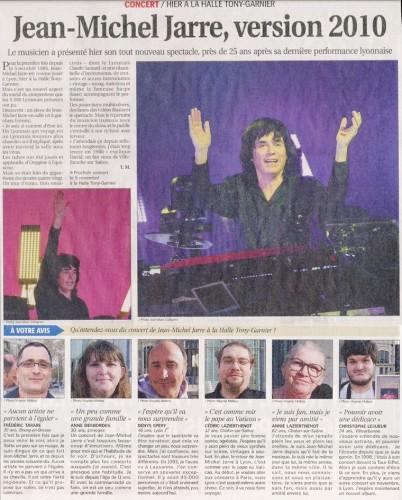 Lyon,2010,fans,coupure de presse