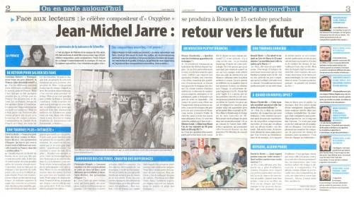 2010,jean michel jarre, rouen, fans