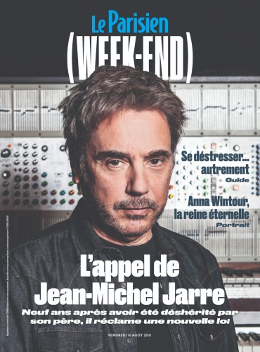 Jean-Michel Jarre déshérité par son père, joue sa dernière carte