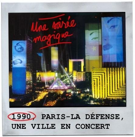 La défense, jean michel jarre,1990,concert géant,record du monde,paris