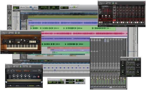 pro tools, logiciel de musique